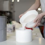 coulage de la porcelaine