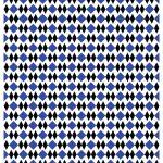 décalcomanie céramique motifs carrés