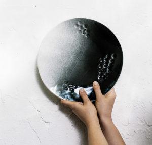 assiette en porcelaine eclipsis